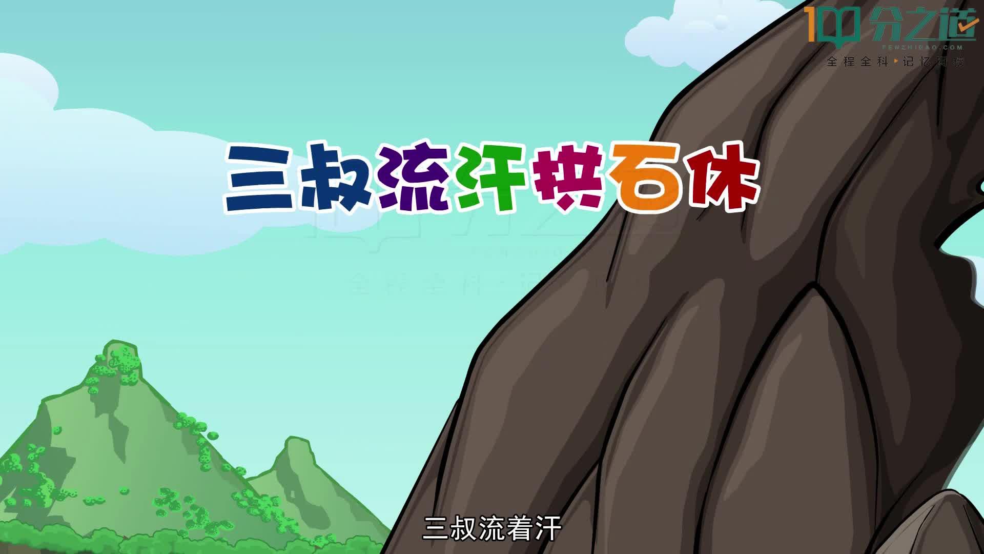 唐宋八大家(视频微课)-【分之道】初中语文全国同步动漫教学超级记忆+思维导图(通用版)
