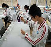青岛中考实验操作、艺术科目开考 实验操作随机抽签