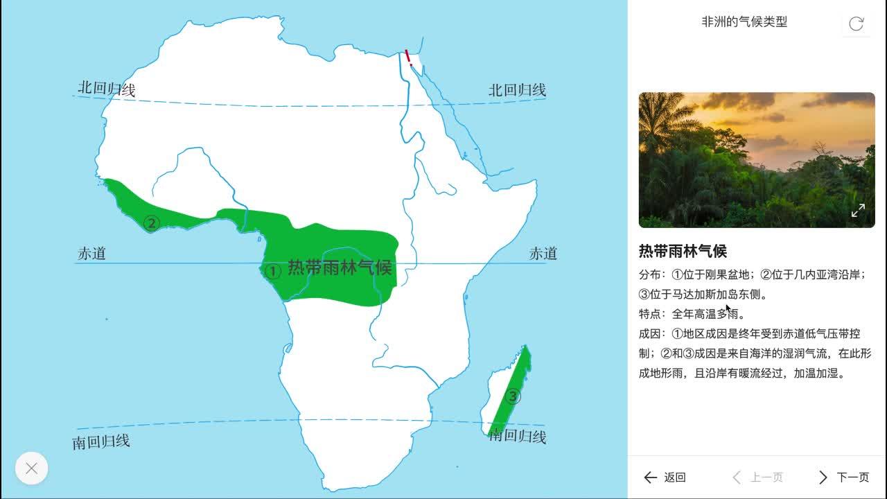 8.3 非洲的气候类型-【火花学院】人教版 七年级地理下册                                                                                        [来自e网通客户端]