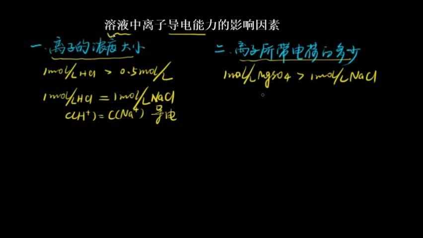 """(二)电解质的电离  1.概念:                                   。  2.电离条件:酸的电离条件是         ,盐和碱的电离条件是                          。  (三)电离方程式的书写  1.强电解质:完全电离,用""""     """"表示。  如H2SO4、NaOH、(NH4)2SO4的电离方程式分别为                     、                             、                             。  2.弱电解质:部分电离,用""""      """"表示。  (1)多元弱酸分步电离,且电离程度逐步减弱,以第一步电离为主。如H2S的电离方程式为                           、                            。  (2)多元弱碱分步电离,但一步写出。如Cu(OH)2的电离方程式:                       。  (3)两性氢氧化物双向电离。如Al(OH)3的电离方程式:                       。 [来自e网通客户端]"""