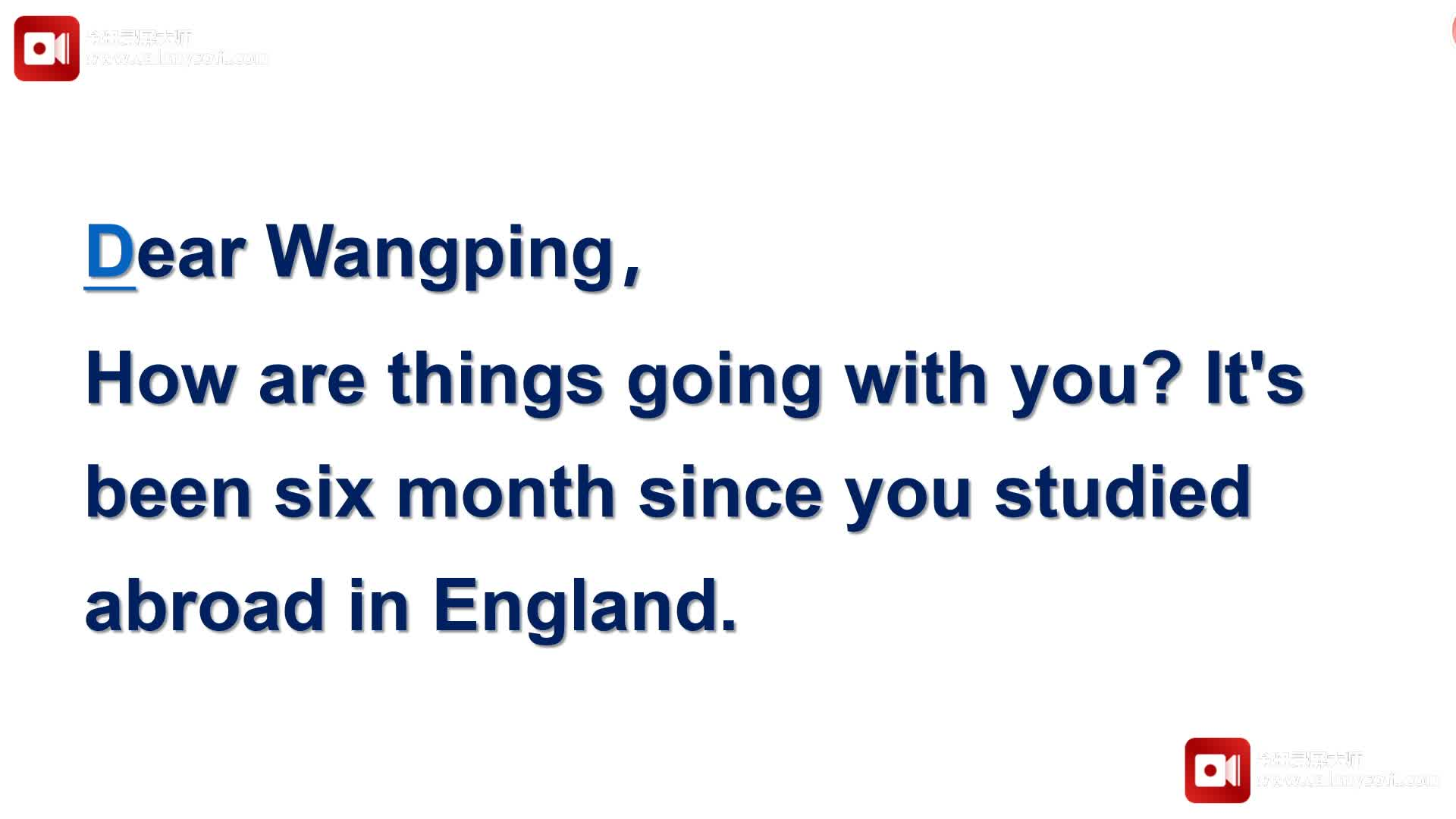 2020届英语高考--短文改错