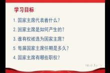 6.2 中华人民共和国主席(微课)-2019-2020年八年级道德与法治下册同步微课(部编版)