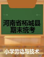 河南省商丘市柘城县劳动与技术三-六年级下学期期末质量检测 2020-2021学年