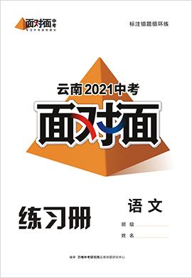 2021云南语文中考面对面精练本