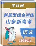 2020年新高考山东语文新题型组合训练