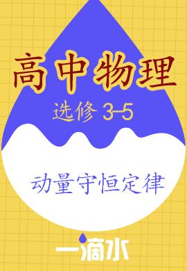 高中物理 选修3-5 动量 动量守恒定律【一滴水】