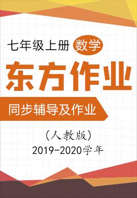 2019-2020学年七年级上册初一数学【东方作业】同步辅导及作业(人教版)