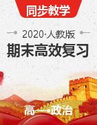 2020-2021學年高一政治期末高效復習和全面提升(人教版必修1)