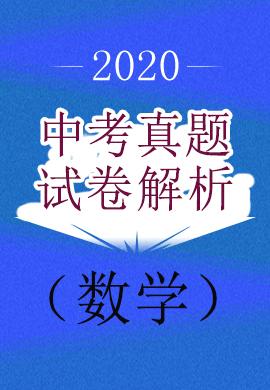 2020年中考数学真题试卷与解析