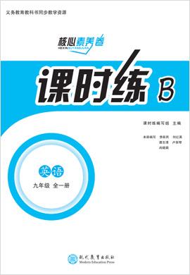九年级全一册初三英语课时练【教材解读·核心素养卷】(人教版)