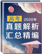 2020年高考真題解析匯總精編