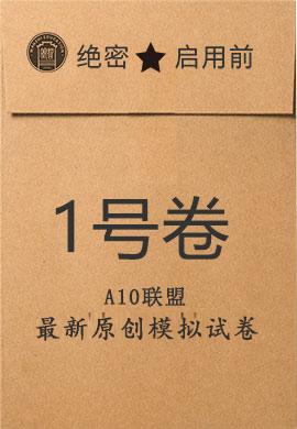 1号卷·A10联盟2020届高三五月联考试题