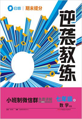 【白鸥同步】2020-2021学年七年级上册数学期末提分《逆袭教练》(北师大版)
