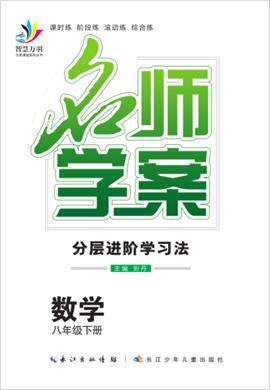 2019-2020学年八年级下册初二数学【名师学案】(人教版)
