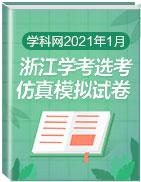 2021年1月浙江學考(選考)仿真模擬試卷