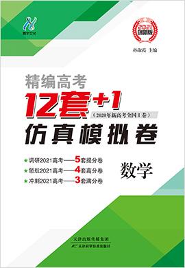 精编高考12套+1仿真模拟卷数学(新高考版)