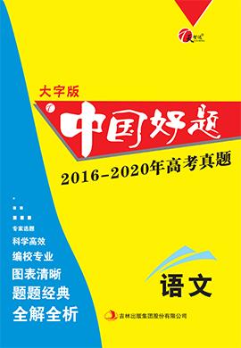 【天智达 中国好题】2016-2020年高考真题语文