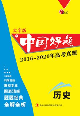 【天智达 中国好题】2016-2020年高考真题历史