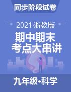 2020-2021学年九年级科学上册期中期末考点大串讲(浙教版)