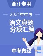 2021年中考语文真题分项汇编(浙江专用)