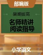 【名师精讲+配套视频】四-六年级语文阅读指导课件 (统编版)