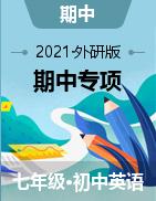 2020-2021学年七年级英语下学期期中专项复习(外研版)