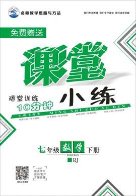 2020-2021学年七年级下册初一数学【名师作业本】课堂小练(人教版)