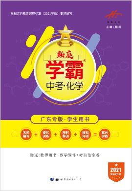 2021版翰庭学霸中考化学(广东专版)