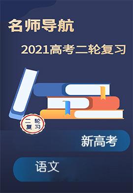 2021新高考语文二轮复习【名师导航】Word练习(全国版)