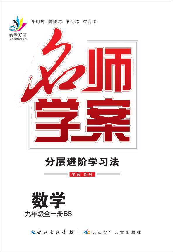 2020-2021学年九年级全一册初三数学【名师学案】(人教版)