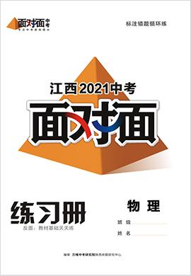 2021江西物理中考面对面精练本