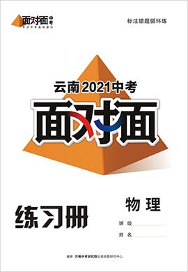 2021云南物理中考面对面精练本