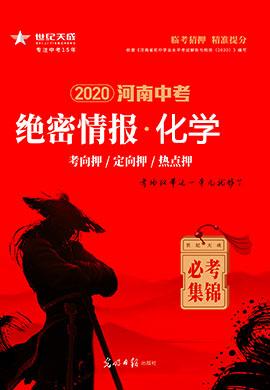 【绝密情报】2020河南中考化学
