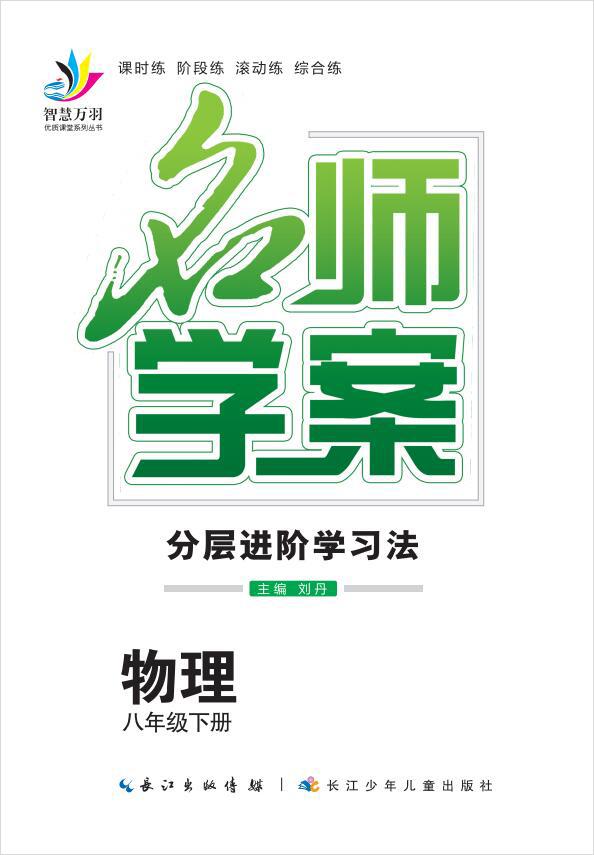 2020-2021学年八年级下册初二物理【名师学案】人教版(书稿)