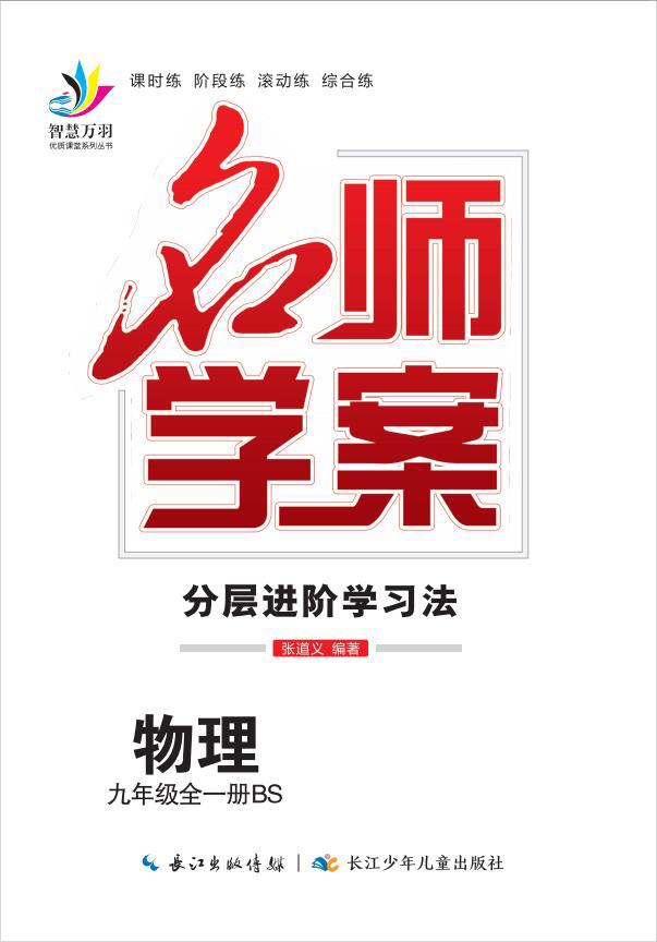 2020-2021学年九年级全一册初三物理【名师学案】(沪科版)