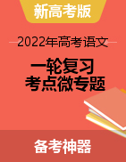 备战2022年高考语文一轮复习考点微专题(新高考版)