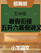 【拔高篇】2021五升六暑假衔接讲义 (教师版,含答案)