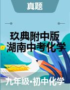 【玖典附中版】2020年湖南省中考化学真题详解