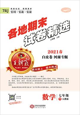 2021春七年级下册数学期末试卷精选【王朝霞系列丛书】河南专版(人教版)