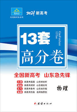 【培优限时练】2021年新高考物理高分卷13套