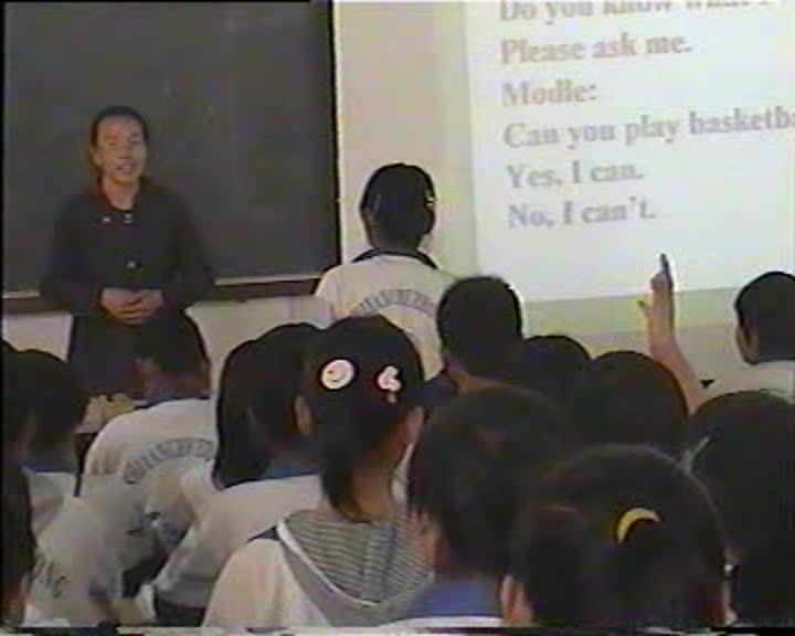 (课堂实录)【公开课优质课】七年级上册Module 2(外研版)