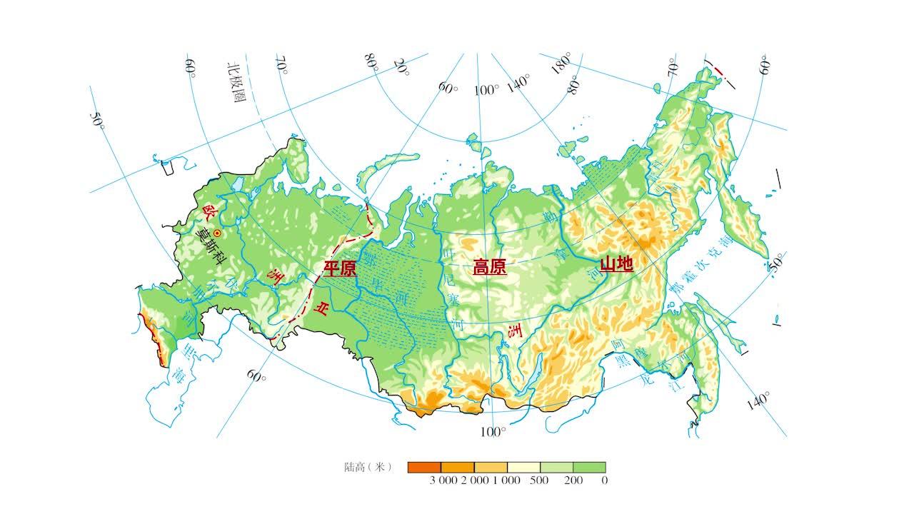 7.4 俄罗斯的主要气候类型分布和特点-【火花学院】人教版七年级地理下册 第七章 我们邻近的地区和国家 第四节 俄罗斯 [来自e网通客户端]