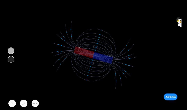 20.1 条形磁铁的磁场分布-【火花学院】人教版九年级物理 电与磁 第二十章 电与磁 第一节 磁现象 磁场 [来自e网通客户端]