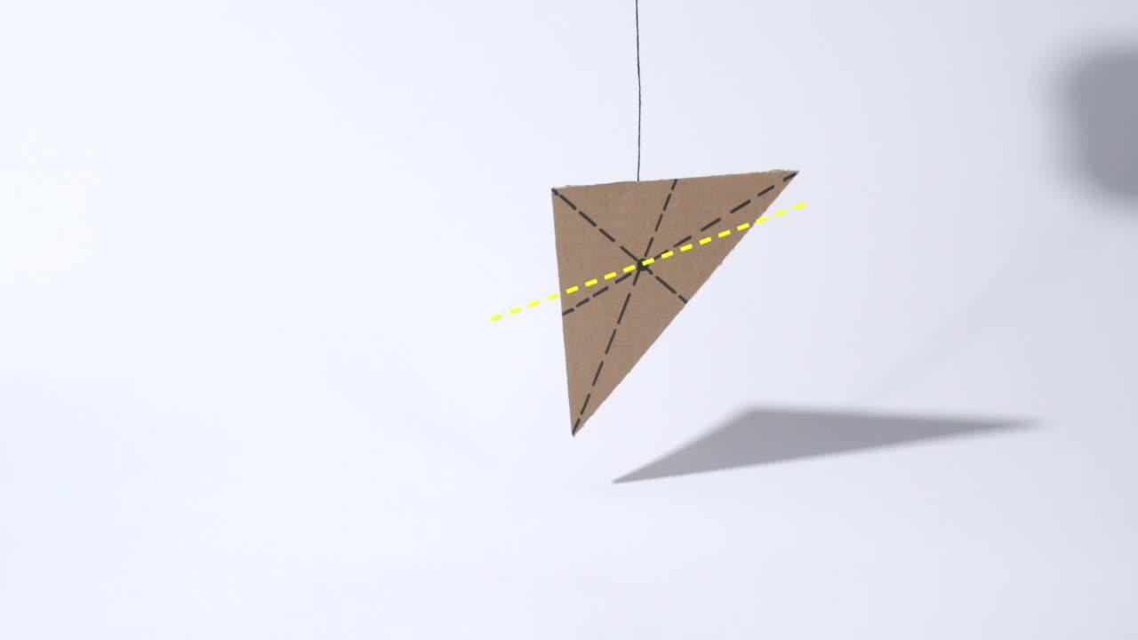7.3 懸掛法確定物體的重心-【火花學院】人教版八年級物理下冊 視頻微課堂