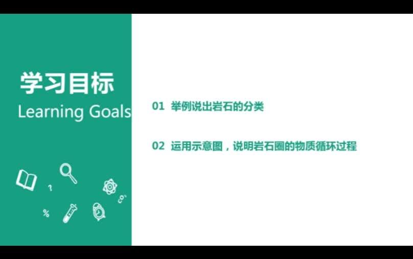 三大类岩石循环-北京市昌平区前锋学校高中人教版必修一地理微课视频