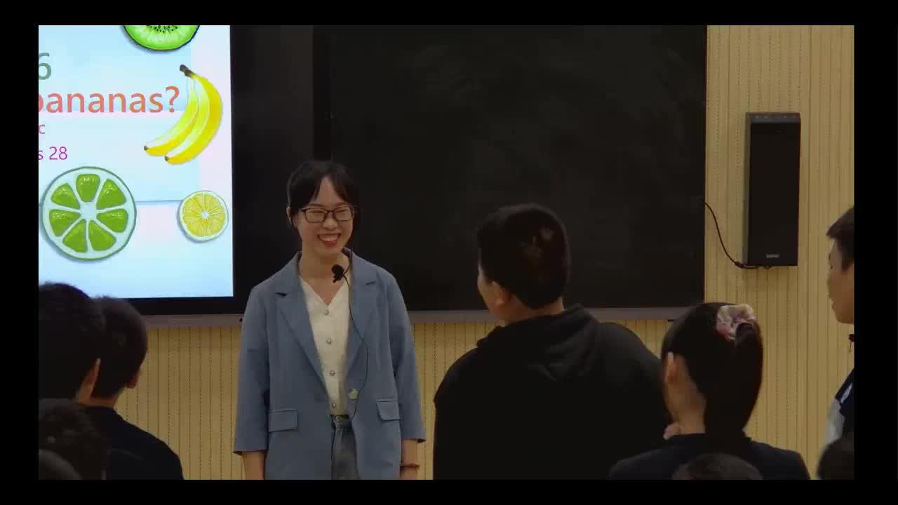 (课堂实录)Unit 6 Do you like banans Section A 1a-1c-【公开课优质课】人教版新目标英语七年级上册