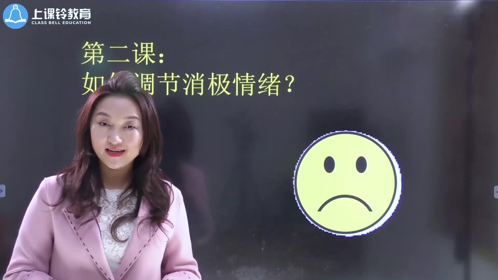 【微课视频】2. 如何调节消极情绪?【十堂心理辅导课,高考多飙50分】