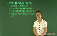 说题课视频 2012年高考生物试卷讲解(全国大纲卷)_标清_标清