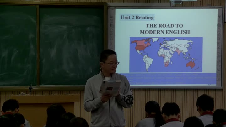 人教版2003 高一英语 Unit2 English around the world 阅读