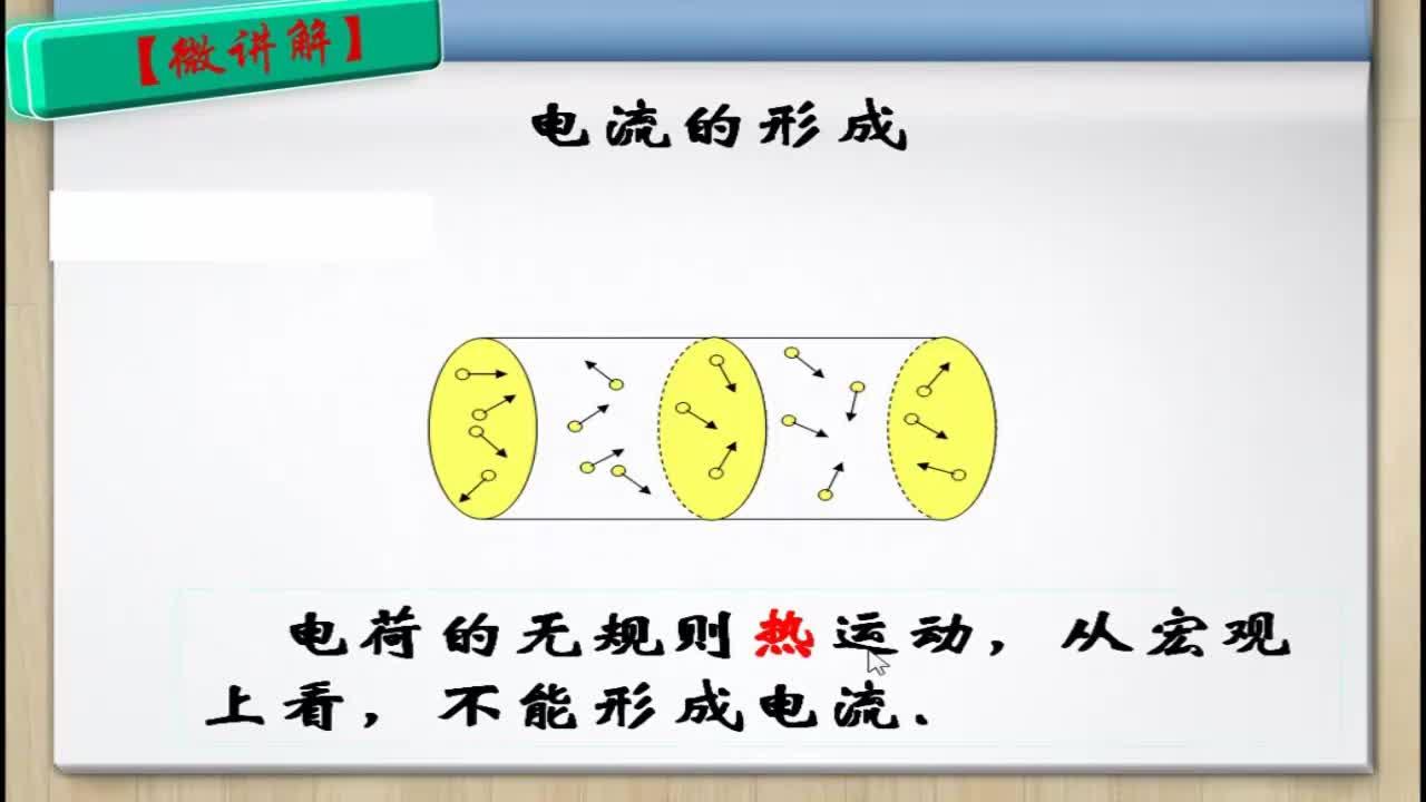 【名师微课】高中物理(人教版)选修3-1微课视频:电源和电流